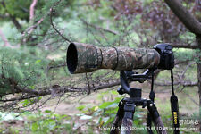 Lens Camouflage Rain Cover for Nikon AF-S 200-500mm f/5.6E ED VR Guns Clothing