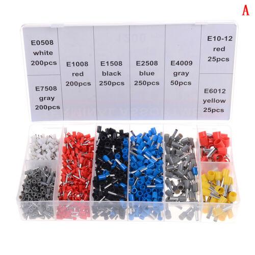 0.25-10mm Crimper plier wire crimping tools with 1200PCS wire crimp terminals RG