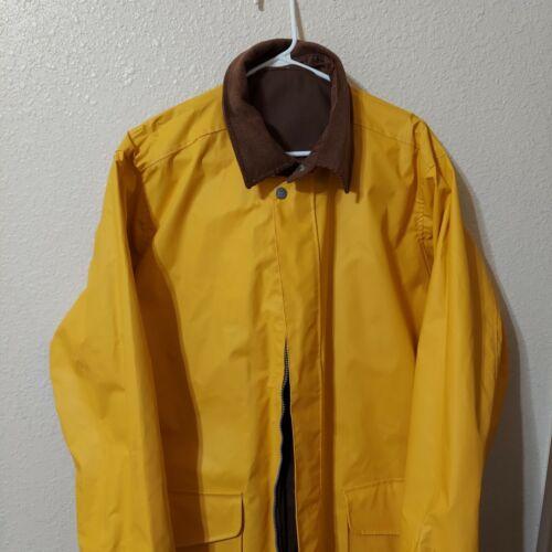 Vintage Adult Marlboro Gear Reversible Yellow/Brow