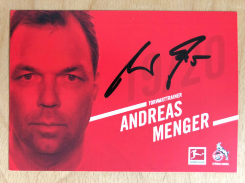 1.FC Köln Autogrammkarte 2019-20 original signiert 1 AK aussuchen