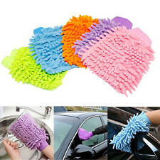 Chenille Mitt Mikrofaser Handschuhe Auto Reinigung Handtuch Handschuh Tuch Wasch