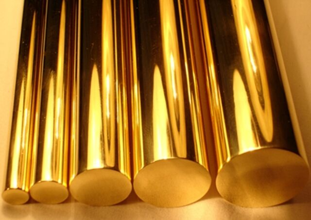 "K & S 8162 - 3 x 1/16"" (1.57mm) Diameter x 12"" Long Round Brass Rod New"