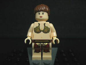 LEGO STAR WARS SLAVE PRINCESS LEIA minifig from 6210