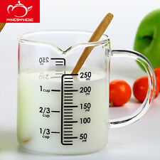 300ml Glass Measuring Cup With A Scale / Glass Milk/ Transparent Heat Baking/Can