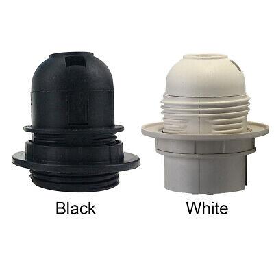 Uk Es E27 Edison Cap Socket White