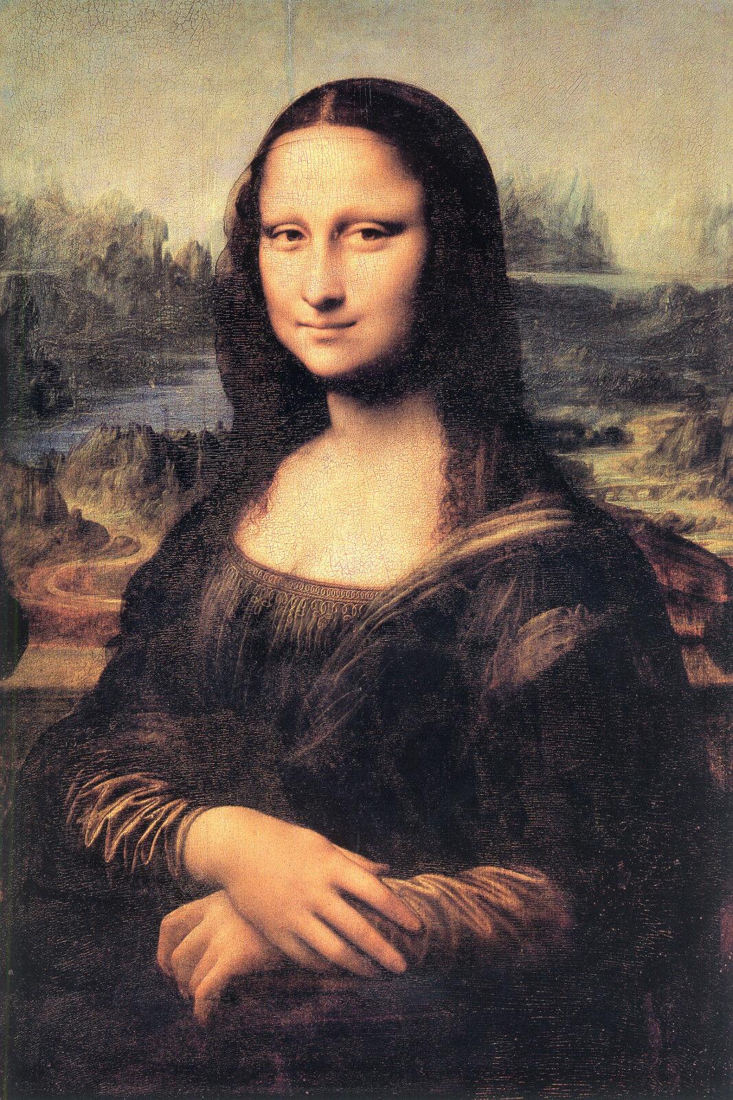 Smita Tapete Leonardo 23090 Mona Lisa Wandbild Vinyl Vlies Vliestapete Da Vinci