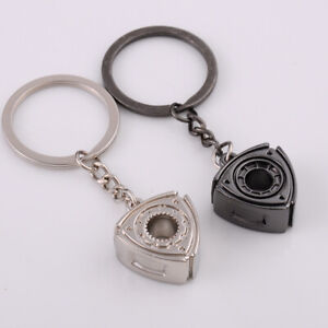 3X-Gift-Automobile-Refitting-Rotor-Engine-Keychain-Key-Ring-Pendant-Waist-H5C5