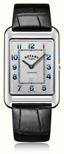 Rotary-GS05280-70-Men-039-s-Cambridge-Oblong-Watch-leather-RRP-149-00