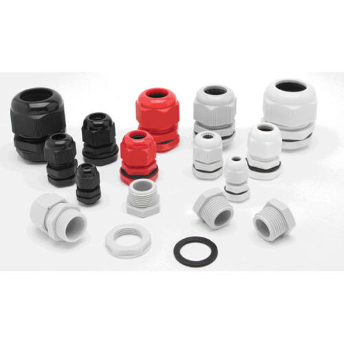 IP68 25MM CABLE COMPRESSION STUFFING GLAND PACK OF 5 FOR OUTSIDE LIGHTING