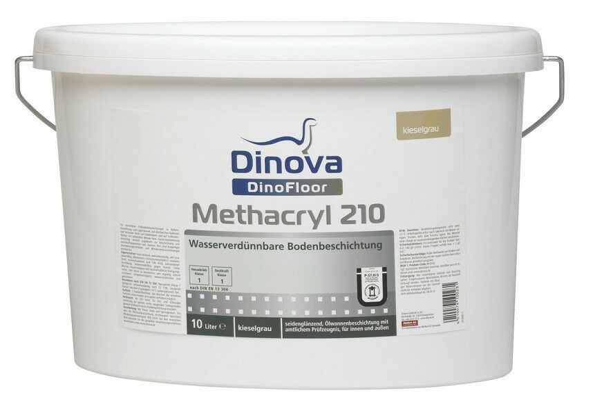 Dinova DinoFloor Methacryl 210 10 Liter - abbriebfest, wetterBesteändig -