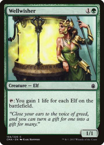 Wellwisher Commander Anthology NM Green Common MAGIC GATHERING CARD ABUGames
