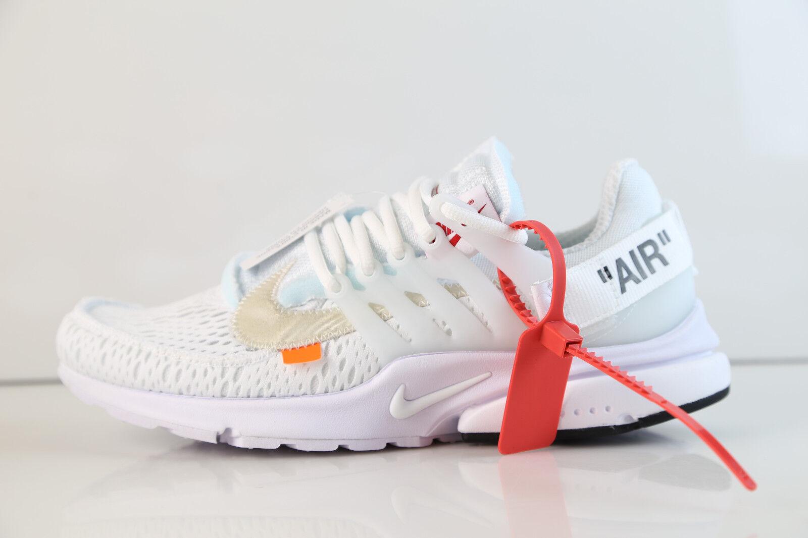 Nike air presto biancastro virgil abloh bianco 2 aa3830-100 2018 4-13 10 10