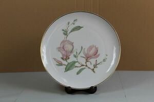 grosser-Teller-Hutschenreuther-Selb-Bavaria-Germany-34-cm-florales-Decor-S158