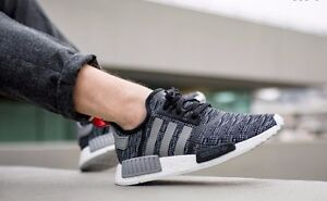 Adidas NMD R1 PK Winter Wool Gr. 43 1/3 Getragen, Boost in Bonn