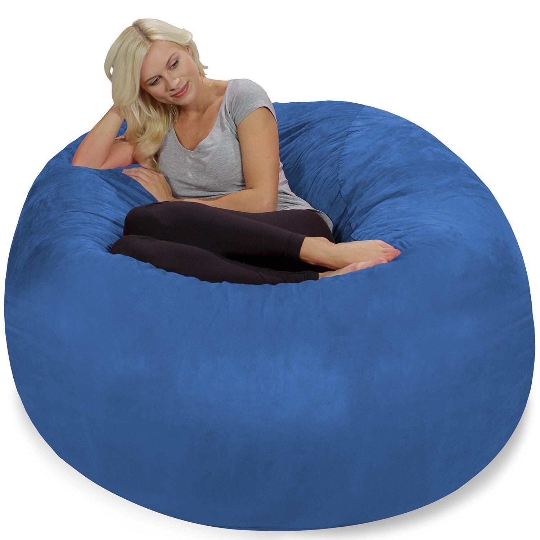 Hot Chill Bag Bean Sofa Dorm Student Teens Comfy Furniture