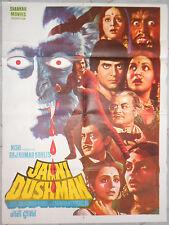 Affiche cinéma Indien BOLLYWOOD Jaani Dushman DRACULA Vampire Shankar Movies