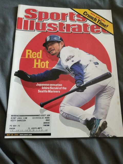 Sports Illustrated Magazine May 28, 2001- Seattle Mariners Ichiro Suzuki