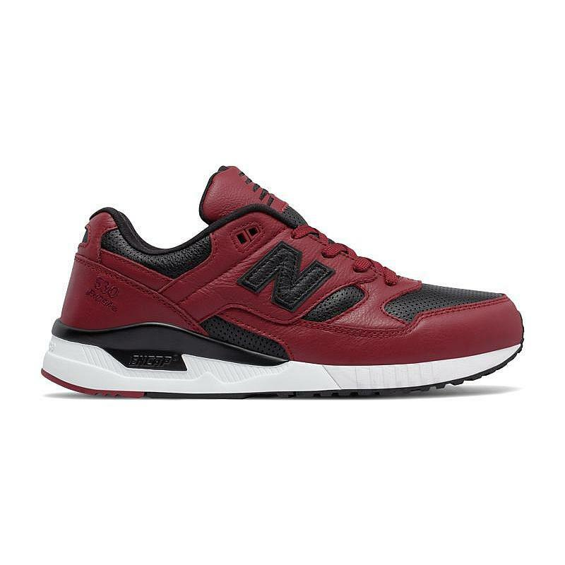 Men's New Balance Lifestyle Lux Leather  Red  Athletic Fashion Sneaker MSRP  110