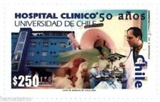 Chile 2002 #2119 50 años Hospital Clinico Universidad de Chile MNH