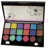 Palette De 18 Fards À Paupières - Chatoyant - Scintillant Shimmer Eyeshadow Set