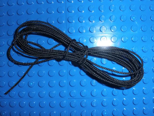Cord Medium Thickness 1,25m bateau Pirate 6285 6286 new Lego x77cc Black String