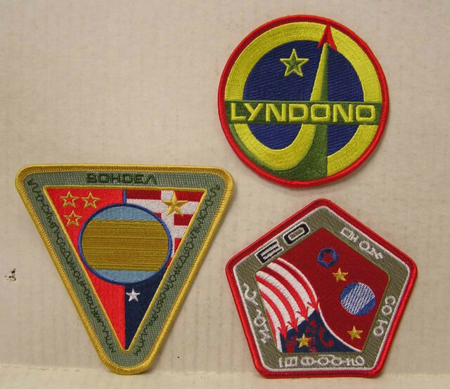 Serenity/Firefly Embroidered Patches- Set of 3-WASH UNIFORM (SEPA-WAS3)