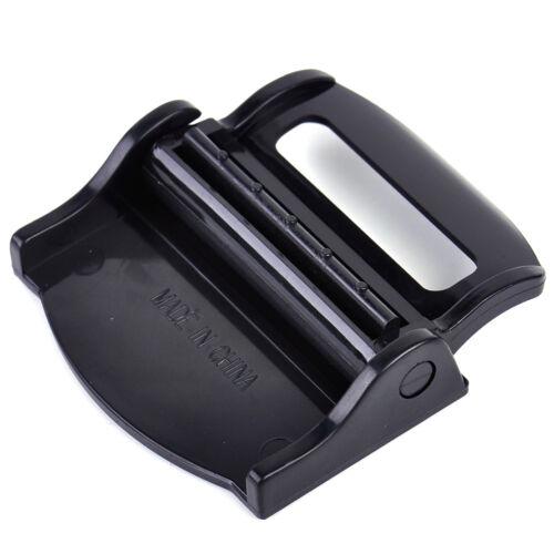 2x Adjustable Black Car Comfort Safety Seat Belt Strap Clamp Buckle Stopper Clip