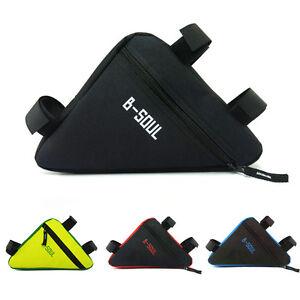 Bike Bicycle Tool Repair Kit Triangle Cycling Bag Waterproof Saddle Bag Pouch