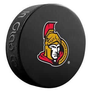 Ottawa Senators NHL Team Logo Basic Souvenir Hockey Puck