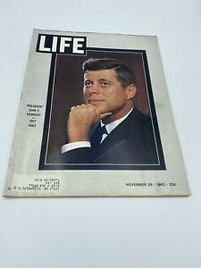 LIFE Magazine November 29, 1963: PRESIDENT JOHN F. KENNEDY 1917-1963