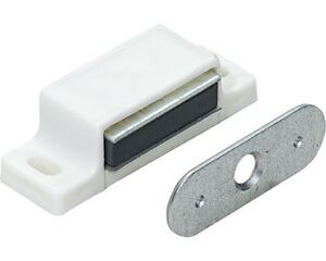 cabinet magnetic catch magnetic catch cupboard door latch white cabinet catch 12964