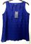 M-amp-S-BLUE-Bordado-de-Encaje-Algodon-Blusa-Top-senoras-8-Bnwt-Marks-amp-Spencer-Mujeres miniatura 4