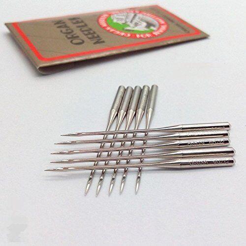 10PCS  ORGAN Flat Shank Needles 15X1 HAX1 130//705H SIZE 8,11,12,14,16,18,21,22