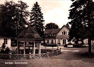 Bad-Berka-Gothe-Brunnen-Ansichtskarte-1962-gelaufen