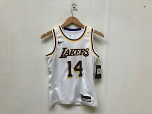 best website fd538 5e9fa Details about Nike Kid's LA Lakers NBA Association Jersey - 8 Years -  Ingram 14- White - New