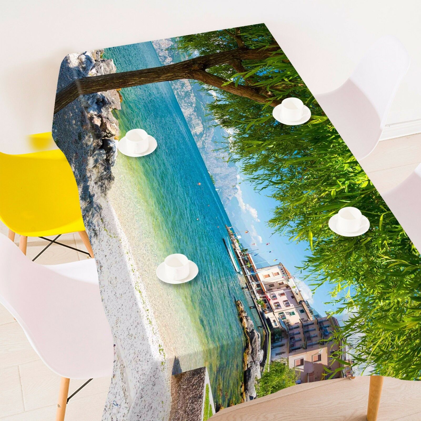 3D Beach 969 Nappe Table Cover Cloth Fête D'Anniversaire événement AJ papier peint UK