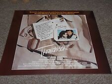 TRENCH COAT (1983) MARGOT KIDDER ROBERT HAYS- 1/2 SHEET POSTER ROLLED