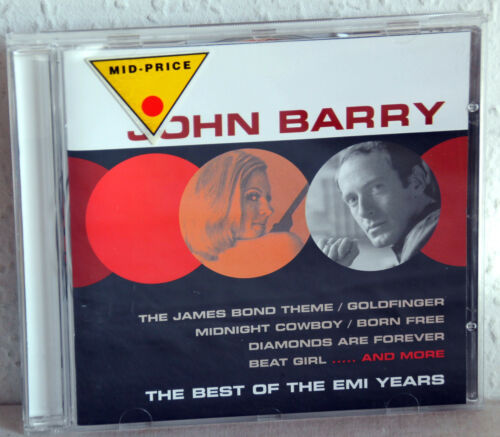 1 von 1 - CD JOHN BARRY - The Best Of The EMI Years