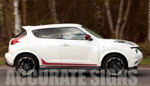 Nissan Juke Lower Graphics Set Stickers Stripes Car Decals Nismo Ebay