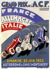 Automobiles Bayard VINTAGE AD POSTER Frédéric Hugo d/'Alési France 24X36 HOT!