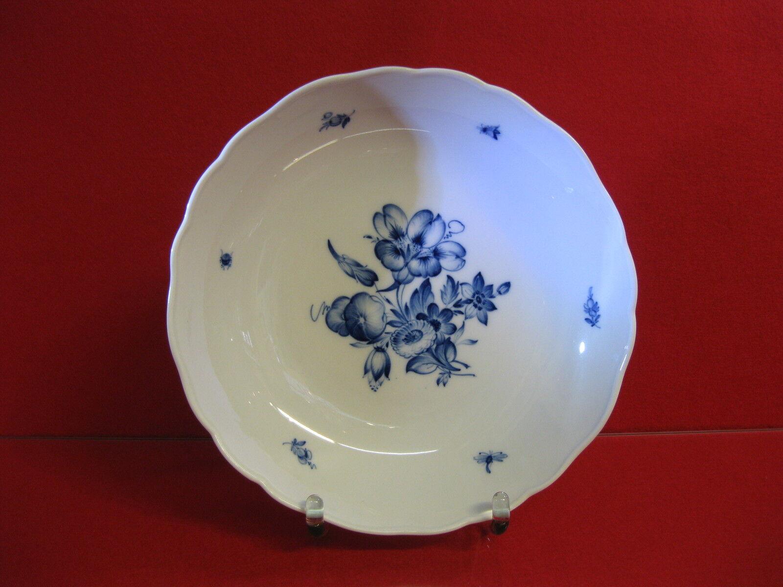 Meissen gemalt bluee blueme Kuchenteller 1 Wahl Kuchenplatte Schale Platte