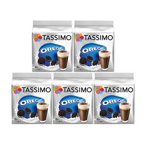 Tassimo T Discs Oreo 5 x 16 Pods 40 Drinks