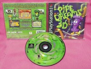 Pipe Dreams 3D - Playstation 1 2 PS1 PS2 Game Complete Authentic Working 1 Owner