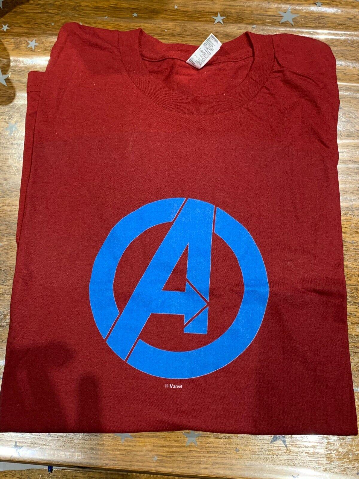 AVENGERS Marvel Logo T-Shirt Size L