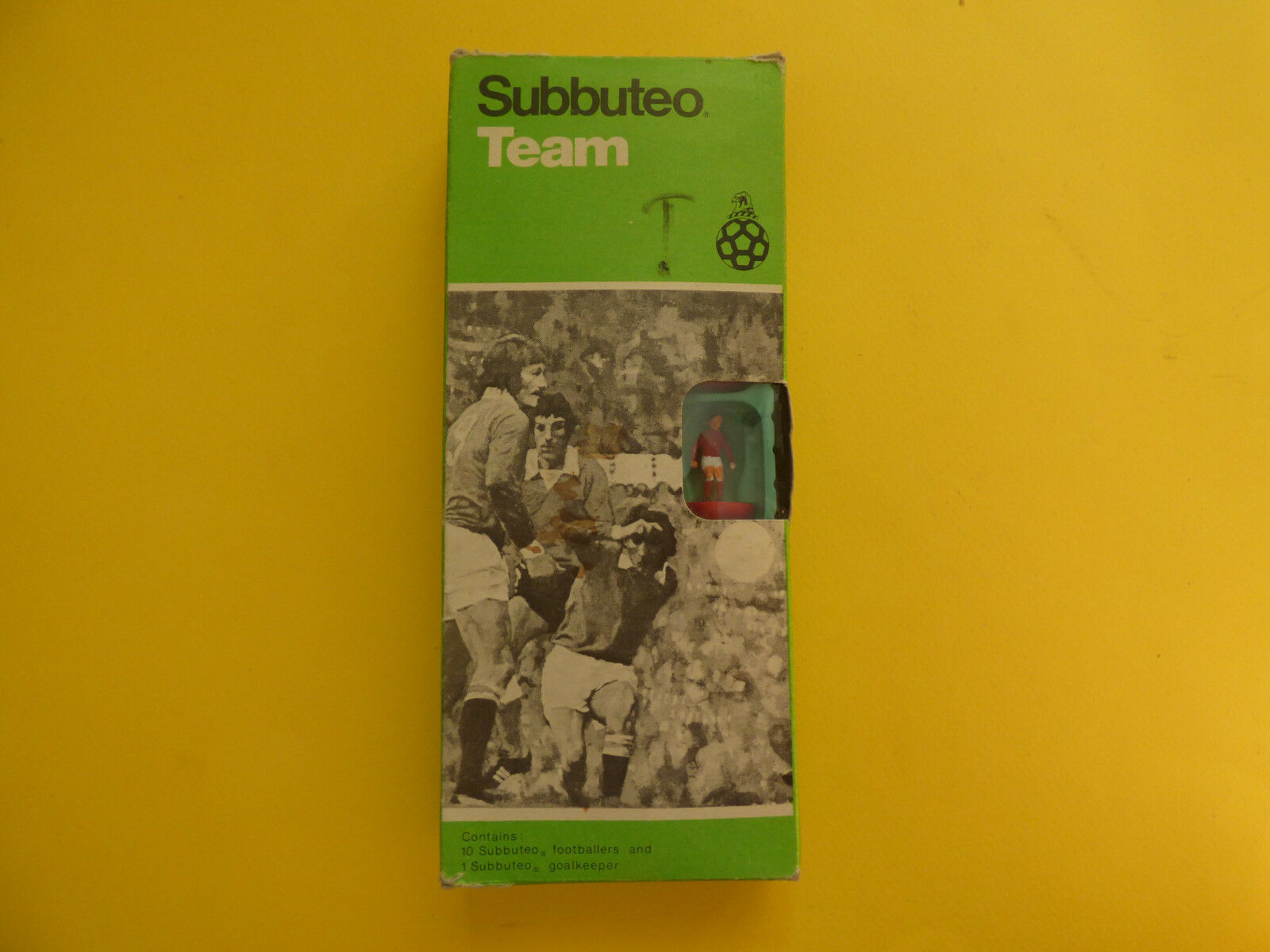 Jahrgang subbuteo ref 41 liverpool-scunthorpe stirling - team selten