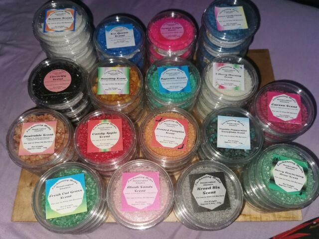 Highly Scented Wax Melts Snap Bars choose Scents Approx 100g