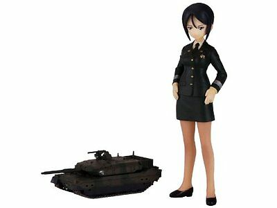NEW Girls and Panzer Chono Ami Captain /& JGSDF Type 10 Figure Anime F//S