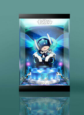 New LOL League of Legends DJ Sona Action Figure with music base