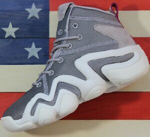 Adidas-Kobe-Bryant-Crazy-8-ADV-Women-039-s-Basketball-Shoes-White-Platinum-CQ2842
