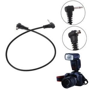 PC-Sync-Cable-12-039-039-2-5mm-1-8-034-Cord-Plug-Jack-30cm-for-Male-Flash-Trigger-Camera